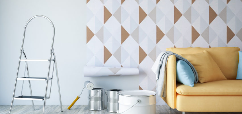 Paint on wallpaper – 4 things you need to know before!